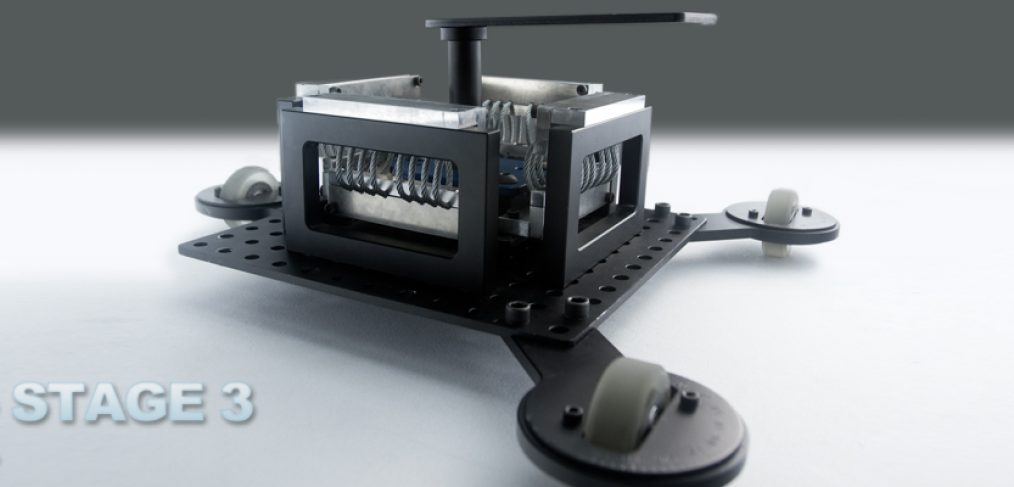 KCW™technica - MRK 3 Tabletop Dolly Configuration