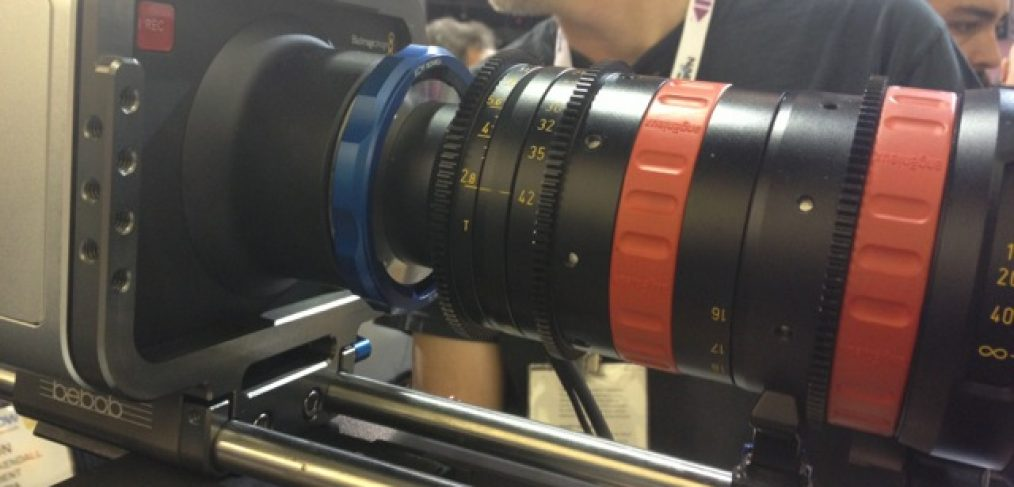 KCW™ technica V1A - PL to EF BlackMagic Angenieux NAB